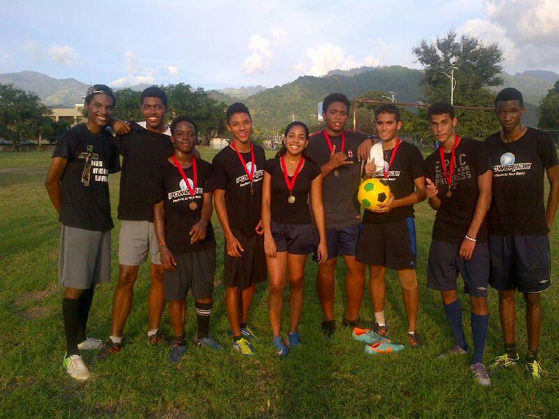 Six-A-Side Football Match Winners 2013